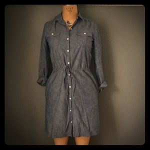 NWT Land's End CANVAS Chambray Dress
